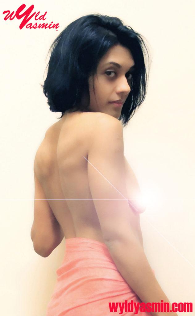 Zahra Soltanian (Wyld Yasmin) in Sarong Topless