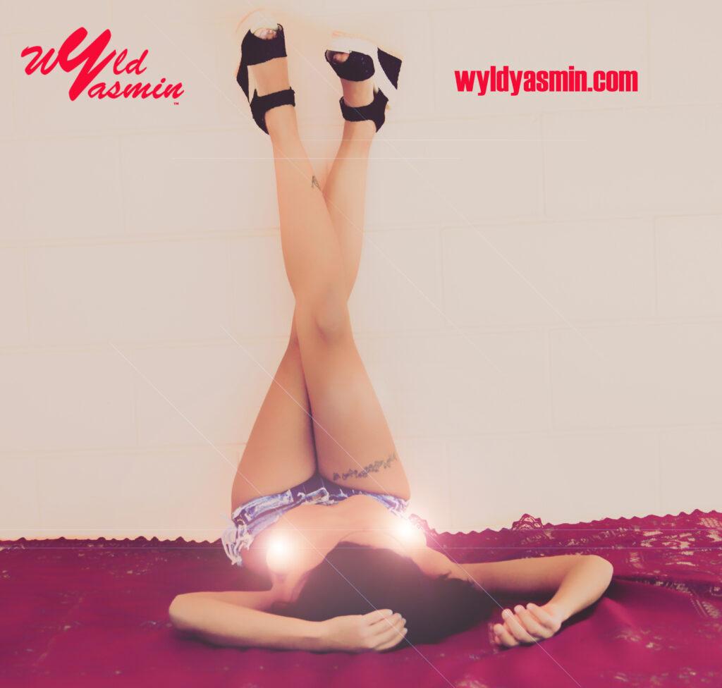 Zahra Soltanian (Wyld Yasmin) Jean Shorts Topless Erotic Art