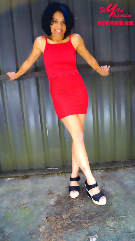 Zahra Soltanian (Wyld Yasmin) in Red