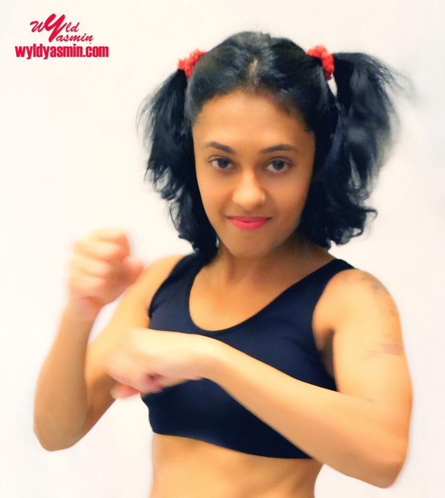 Zahra Soltanian (Wyld Yasmin) Boxing