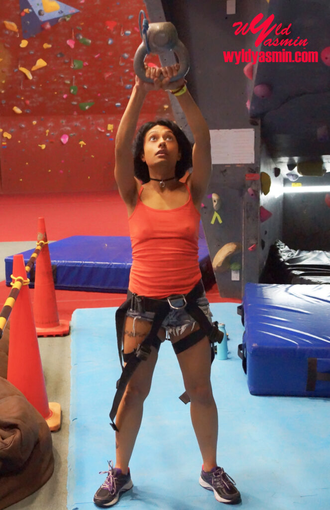 Zahra Soltanian (Wyld Yasmin) - Indoor Rock Climbing