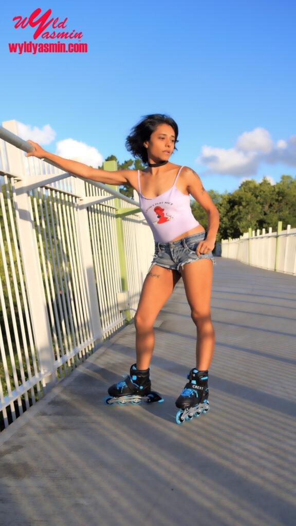 Hot Zahra Soltanian (Wyld Yasmin) Inline Skates
