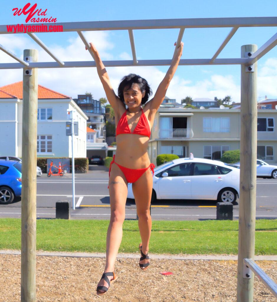 Hot Zahra Soltanian (Wyld Yasmin) Beach Fitness